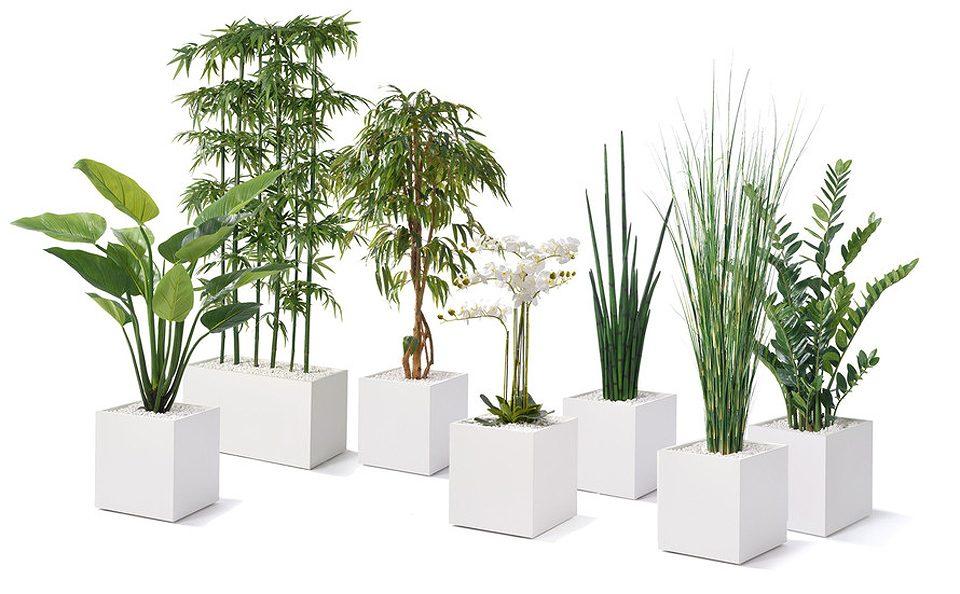 Zusammenstellung Kunstpflanzen