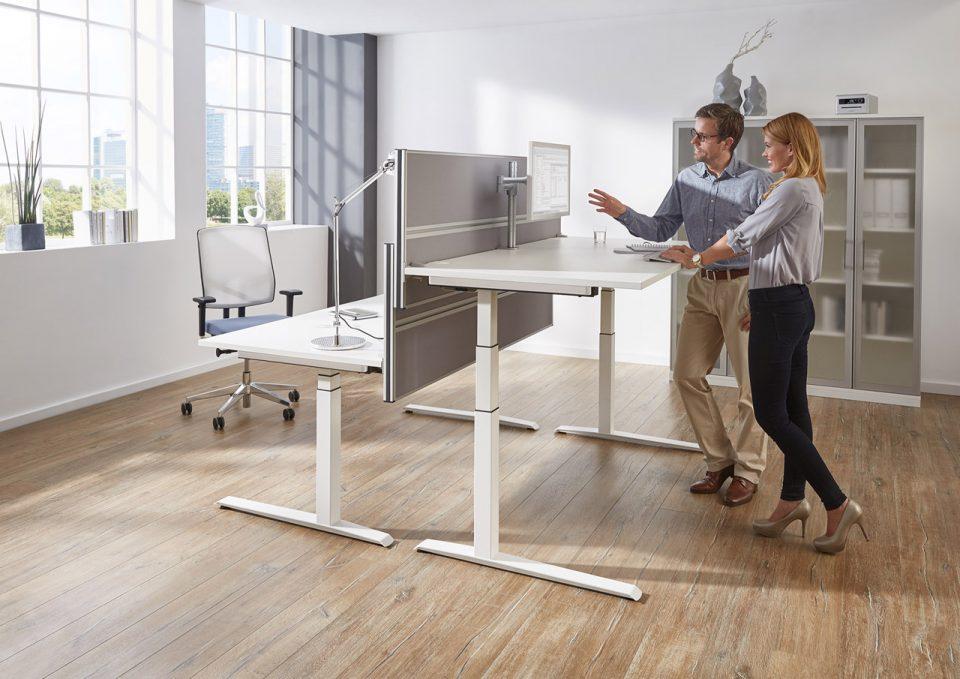 Steh-/Sitztische, FM Büromöbel