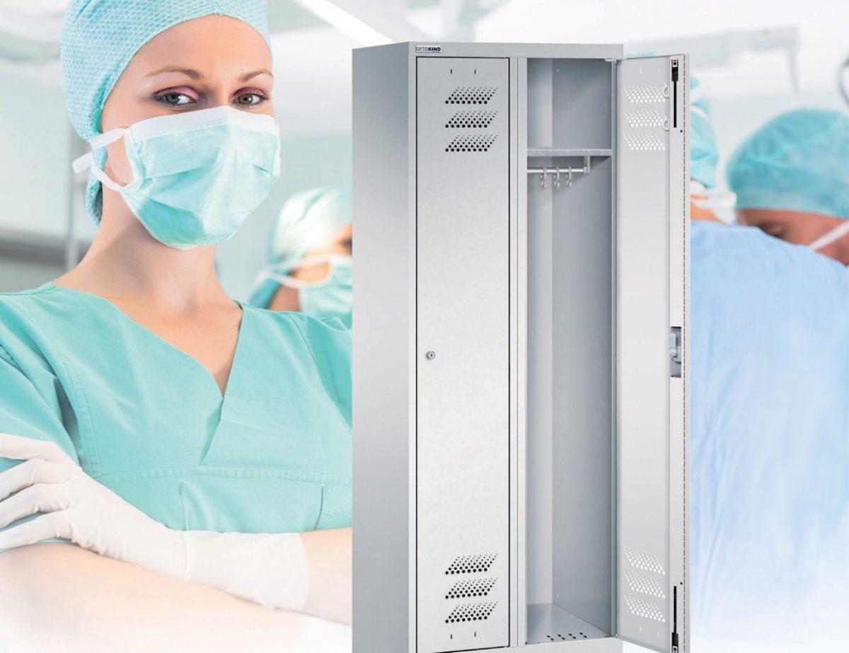 Antimikrobiell_wirksame_Stahlschränke