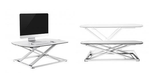 GetUpDesk Free - Tischaufsatz - Büro Stiegler