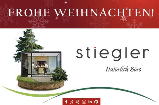 Frohe Weihnachten - Büro Stiegler