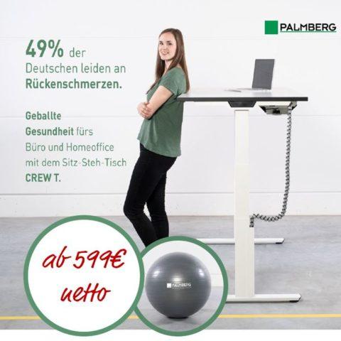 PALMBERG Tisch Aktion - BÜRO STIEGLER