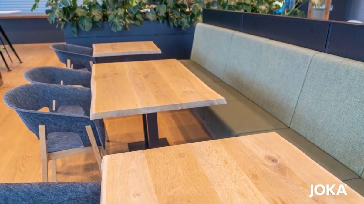 Tischplatten und Gestelle von JOKA